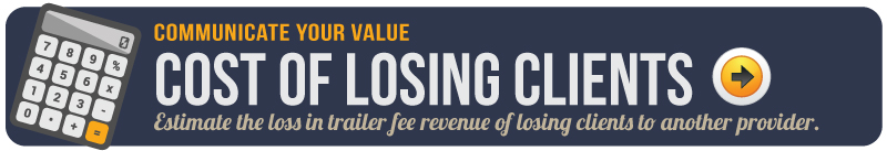 Cost of losing clients
