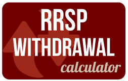 RRSP Withdrawal Calculator