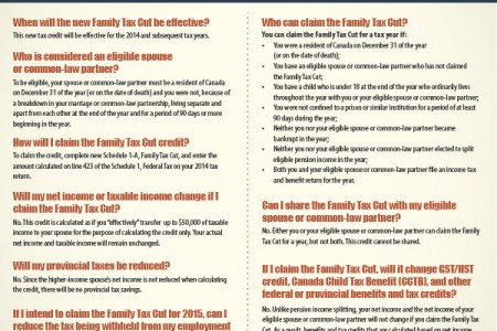 Family Tax Cut FAQ