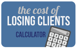 Cost of Losing Clients Calculator