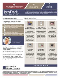 Advisor Brochure York