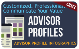 Advisor Value Profile Infographics
