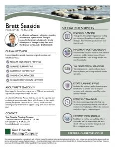 Advisor Profile Seaside