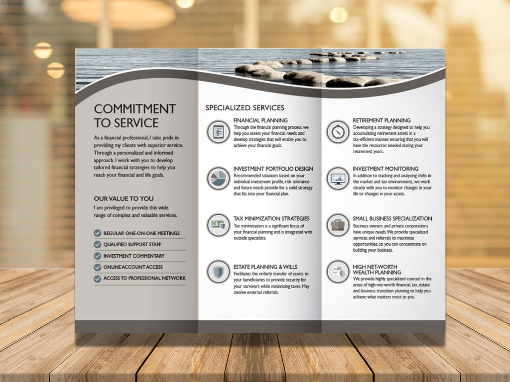 Seaside Tri-Fold Advisor Brochure